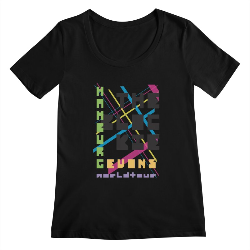 The Blockie Worldtour Women's Scoopneck by Daily Lovejuice