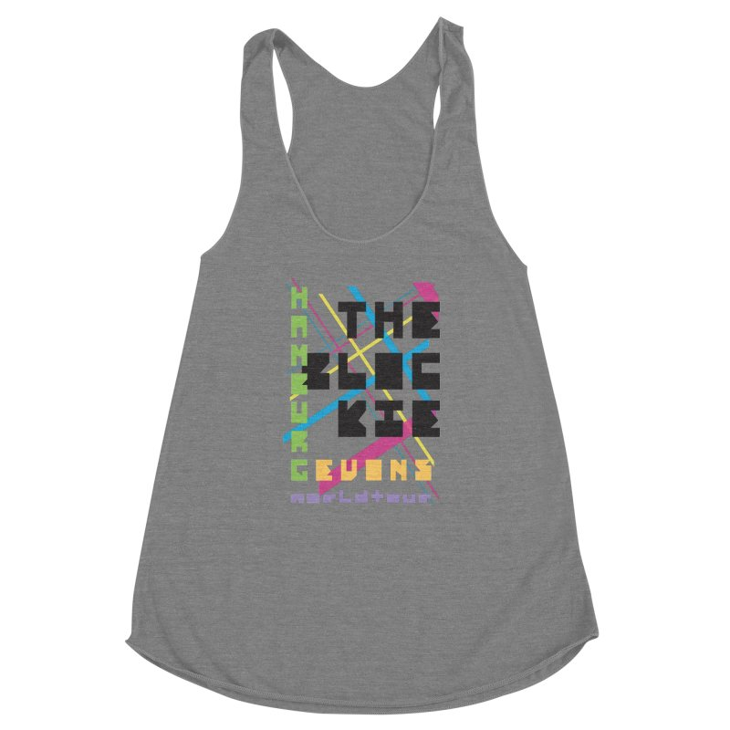 The Blockie Worldtour Women's Racerback Triblend Tank by Daily Lovejuice