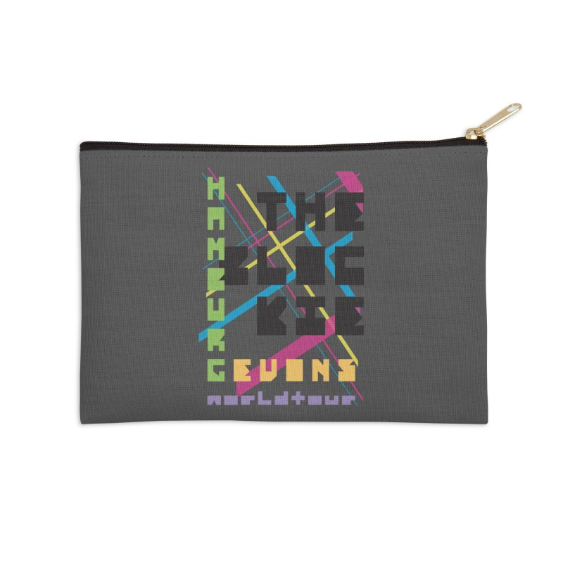 The Blockie Worldtour Accessories Zip Pouch by Daily Lovejuice