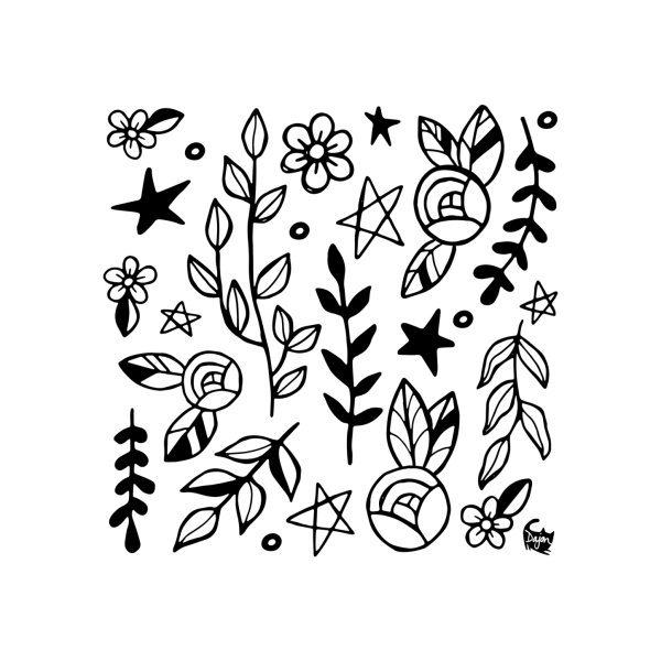 image for Nature Doodle Pattern