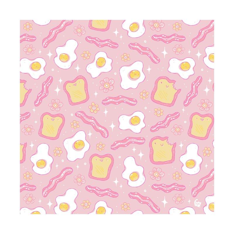 Kawaii Breakfast Pattern Men's T-Shirt by Dajon Acevedo
