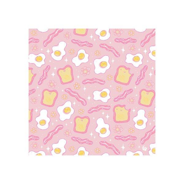 Design for Kawaii Breakfast Pattern