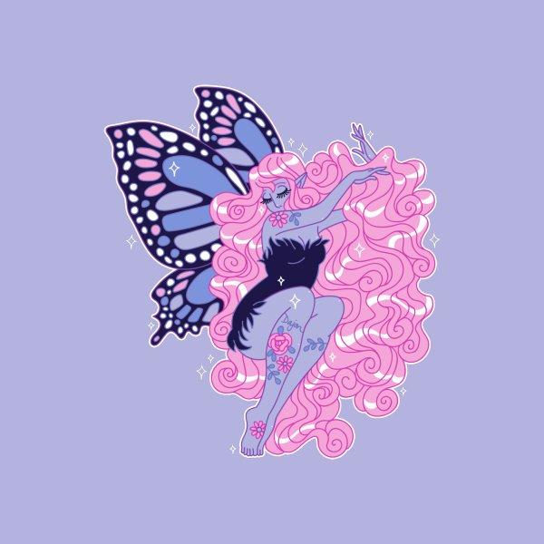 Design for Blue Monarch