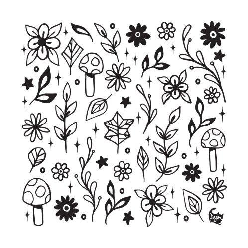 Design for Nature Doodle Pattern 2