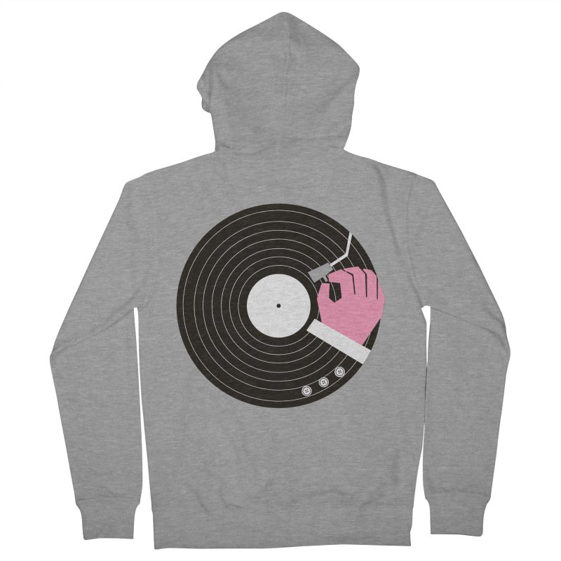 Music Business Women's Zip-Up Hoody by daleedwinmurray's Artist Shop