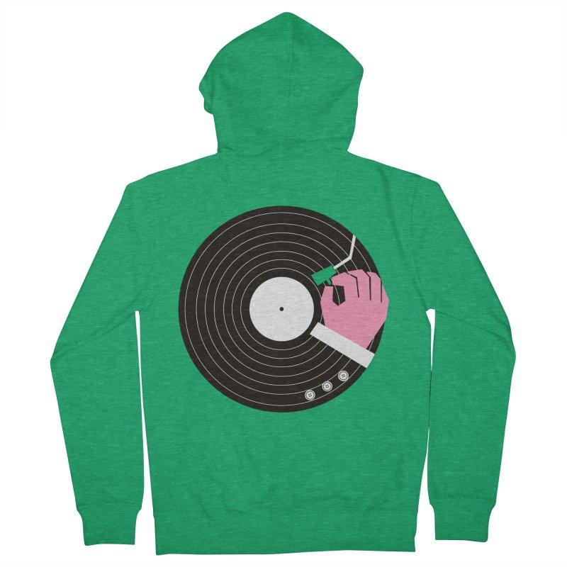 Music Business Men's Zip-Up Hoody by daleedwinmurray's Artist Shop