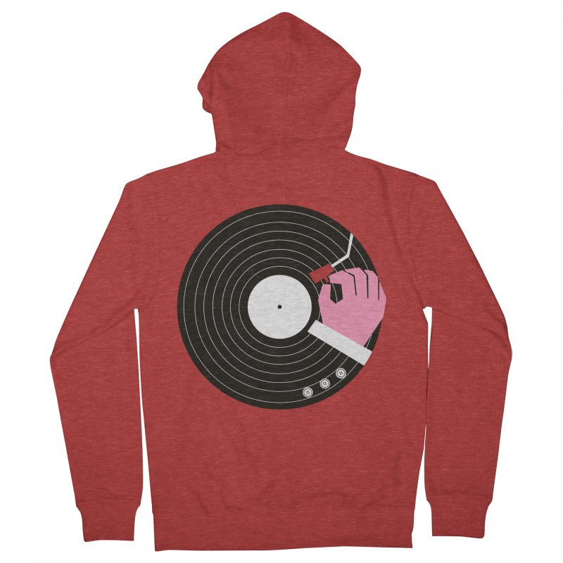 Music Business Men's Zip-Up Hoody by daleedwinmurray's Artist Shop