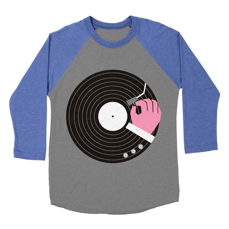 Music Business Women's Baseball Triblend T-Shirt by daleedwinmurray's Artist Shop