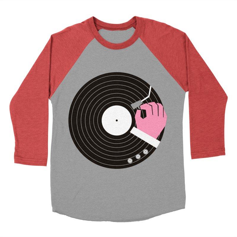 Music Business Men's Baseball Triblend T-Shirt by daleedwinmurray's Artist Shop