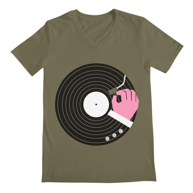 Music Business Men's V-Neck by daleedwinmurray's Artist Shop