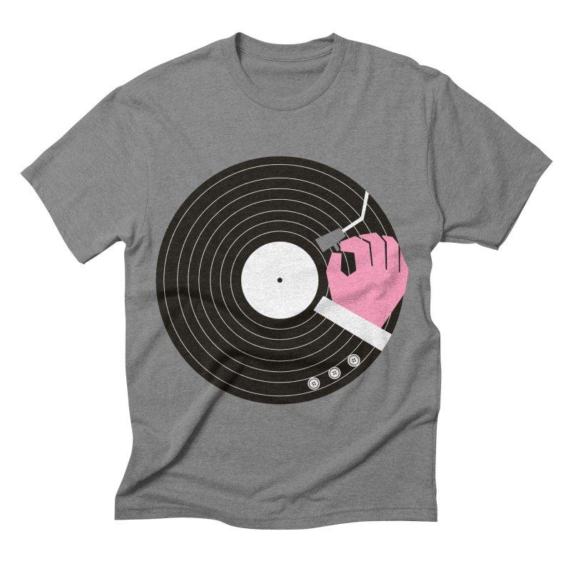 Music Business Men's Triblend T-shirt by daleedwinmurray's Artist Shop