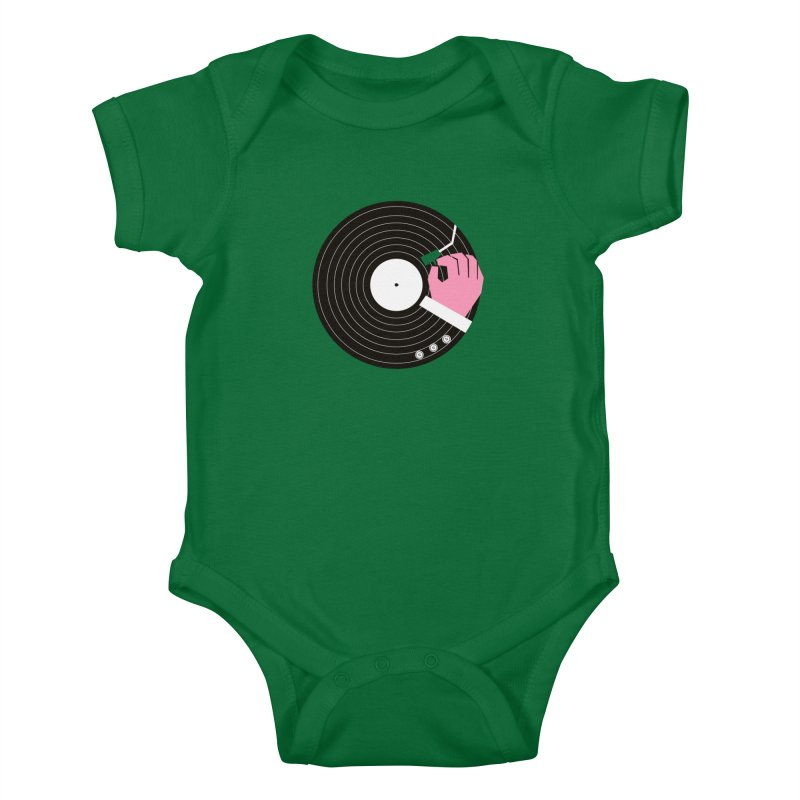 Music Business Kids Baby Bodysuit by daleedwinmurray's Artist Shop