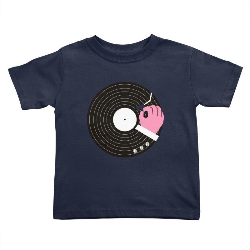 Music Business Kids Toddler T-Shirt by daleedwinmurray's Artist Shop