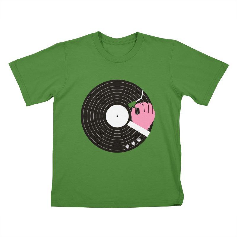 Music Business Kids T-Shirt by daleedwinmurray's Artist Shop