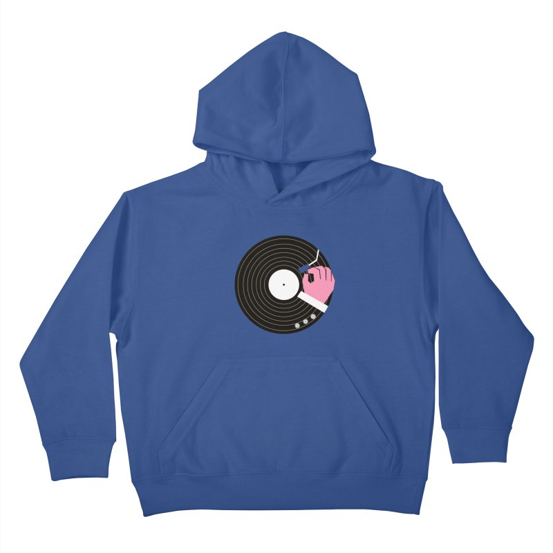 Music Business Kids Pullover Hoody by daleedwinmurray's Artist Shop