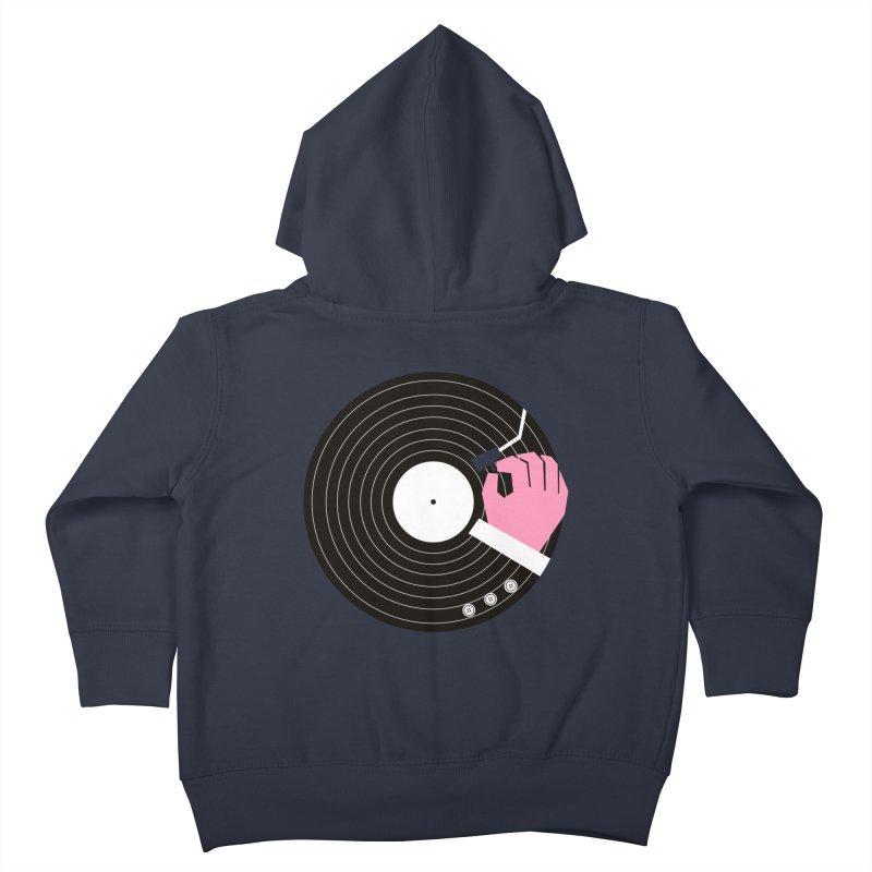 Music Business Kids Toddler Zip-Up Hoody by daleedwinmurray's Artist Shop