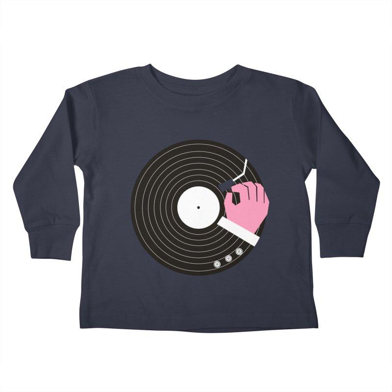 Music Business Kids Toddler Longsleeve T-Shirt by daleedwinmurray's Artist Shop