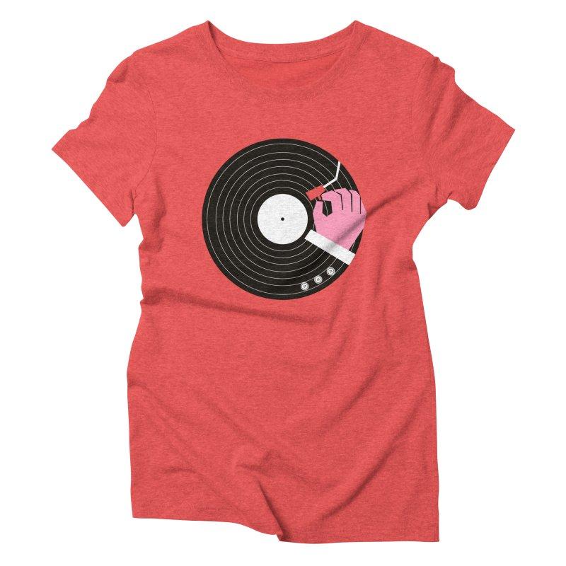 Music Business Women's Triblend T-Shirt by daleedwinmurray's Artist Shop