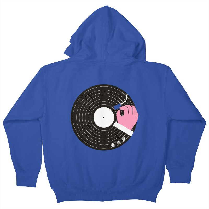 Music Business Kids Zip-Up Hoody by daleedwinmurray's Artist Shop