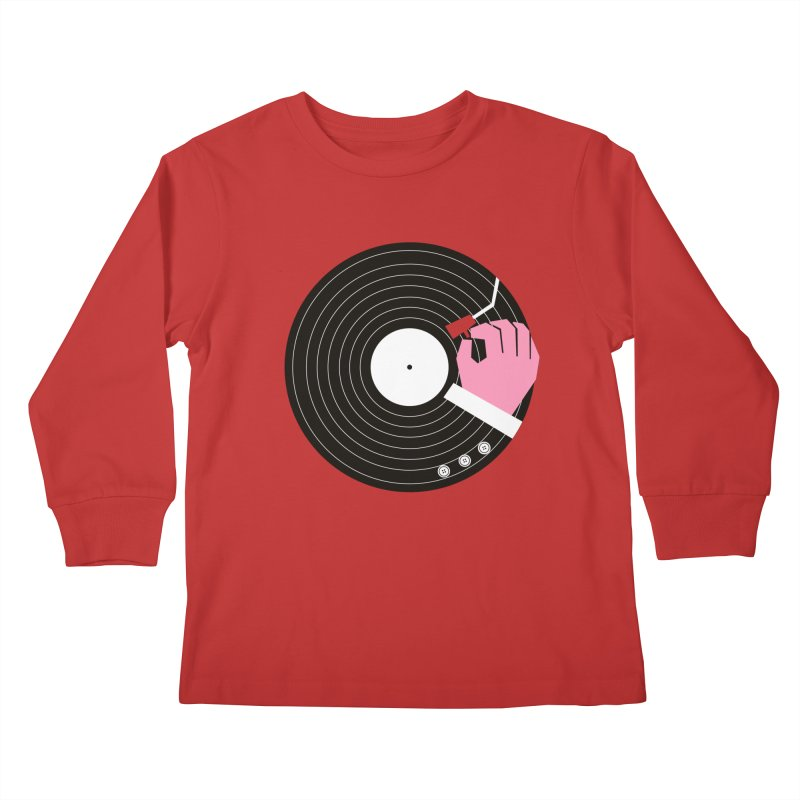 Music Business Kids Longsleeve T-Shirt by daleedwinmurray's Artist Shop