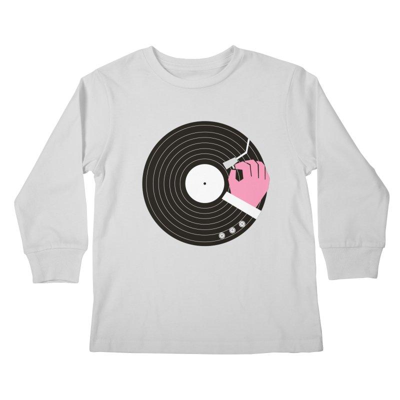 Music Business Kids Longsleeve T-Shirt by daleedwinmurray's Artist Shop
