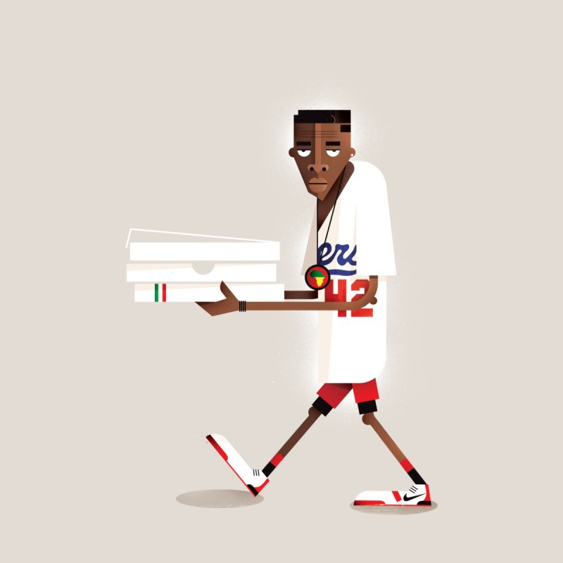 Mookie None  by daleedwinmurray's Artist Shop
