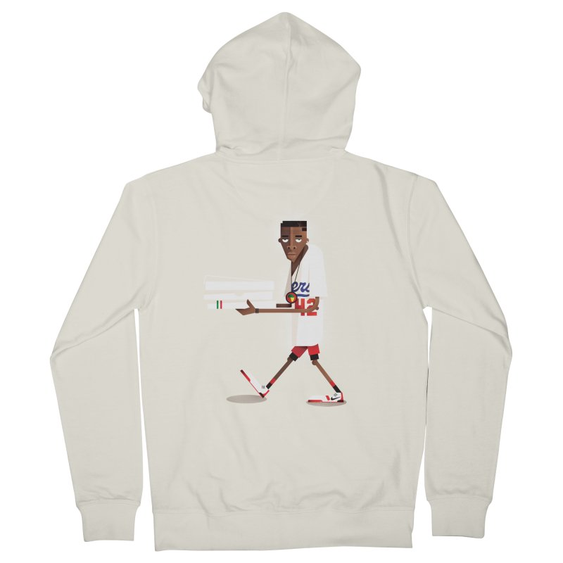Mookie Men's Zip-Up Hoody by daleedwinmurray's Artist Shop