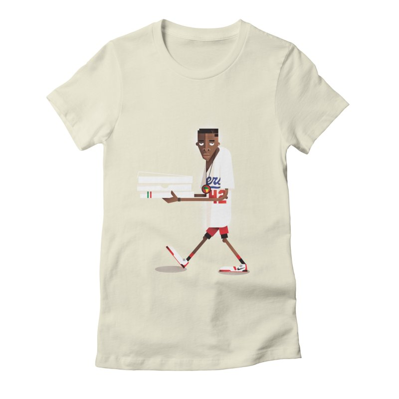 Mookie Women's Fitted T-Shirt by daleedwinmurray's Artist Shop