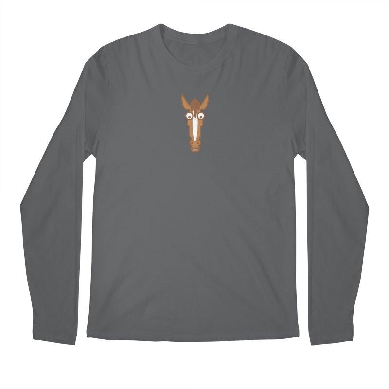 horse 1 Men's Longsleeve T-Shirt by Dale Shimato's Artist Shop