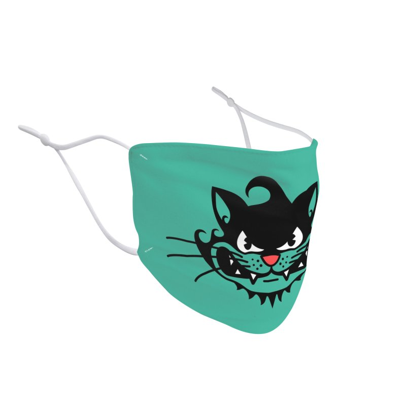Surf Cat - mad Accessories Face Mask by Dale Shimato's Artist Shop