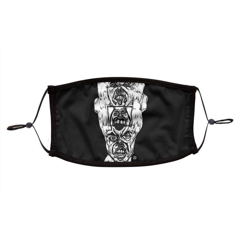 F*@k Accessories Face Mask by Dale Shimato's Artist Shop