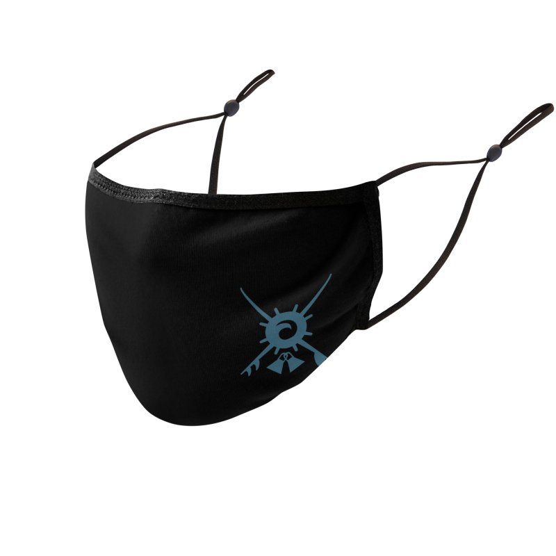 Ocean Blvd Surf Club Accessories Face Mask by Dale Shimato's Artist Shop