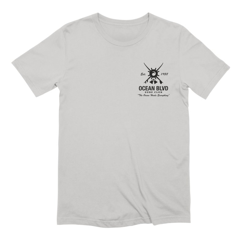 Ocean Blvd Surf Club Men's T-Shirt by Dale Shimato's Artist Shop