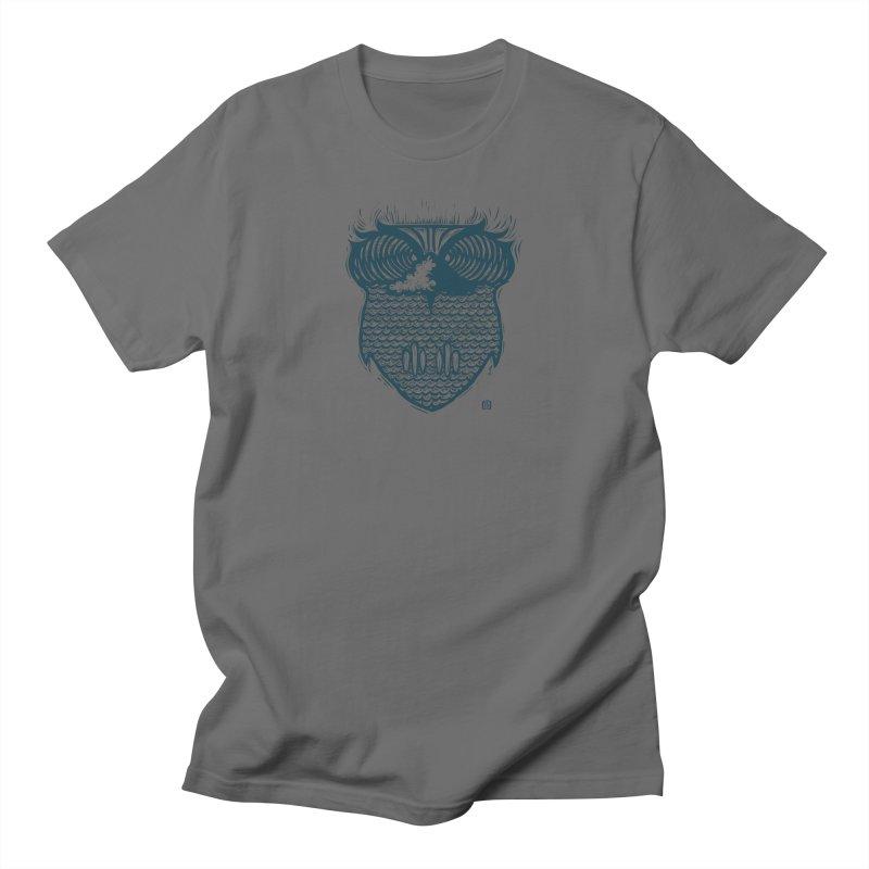 surf owl Men's T-Shirt by Dale Shimato's Artist Shop
