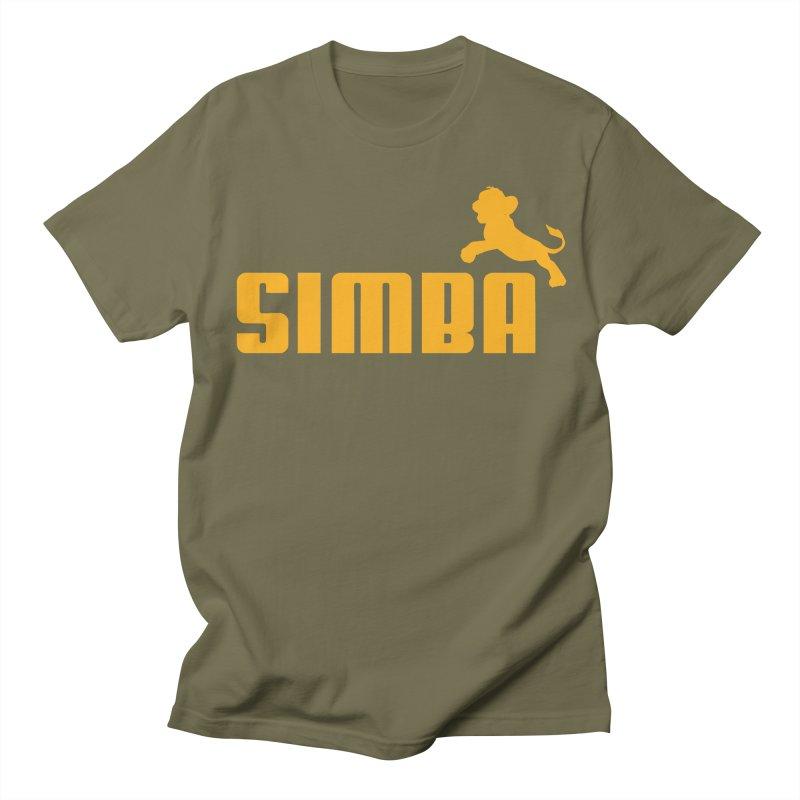 Simba Men's T-shirt by Daletheskater