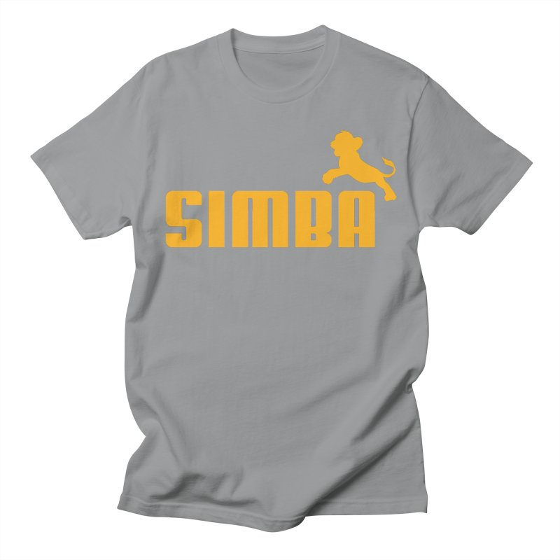 Simba Men's T-shirt by Daletheskater