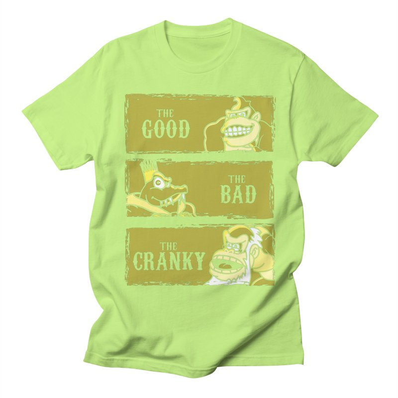 The Good,the Bad and the Cranky Men's T-shirt by Daletheskater