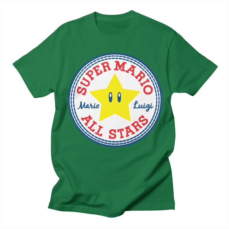 Super Mario All Stars Men's T-shirt by Daletheskater