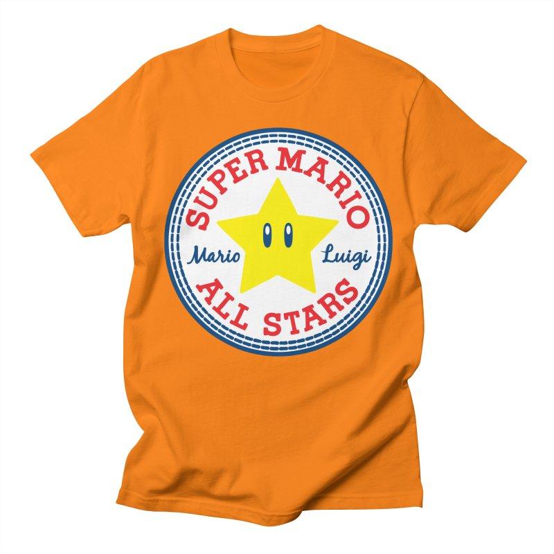Super Mario All Stars Men's T-shirt by Daletheskater