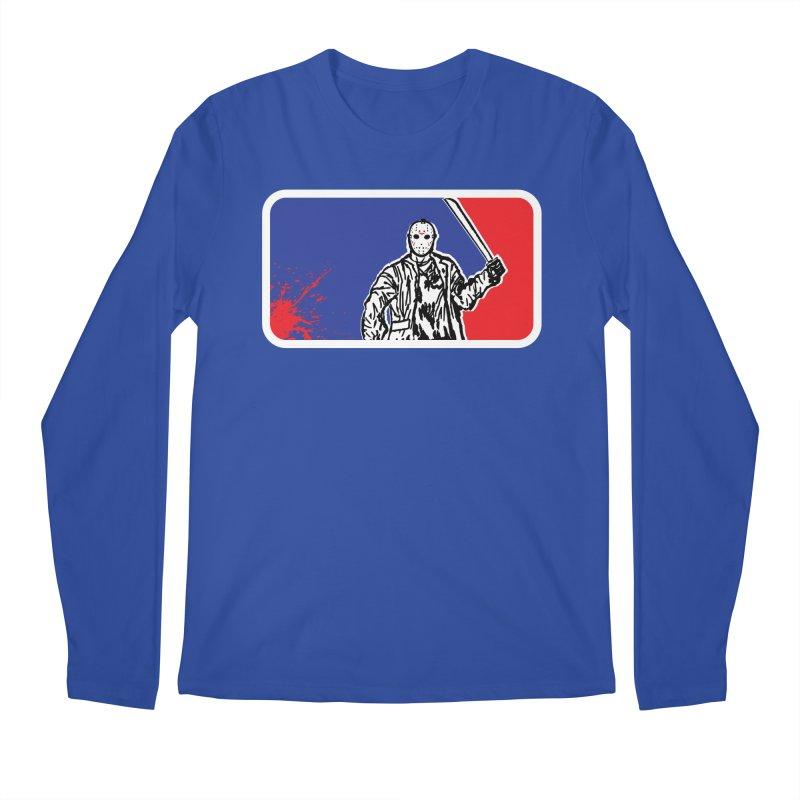 Jason Major League Men's Longsleeve T-Shirt by Daletheskater