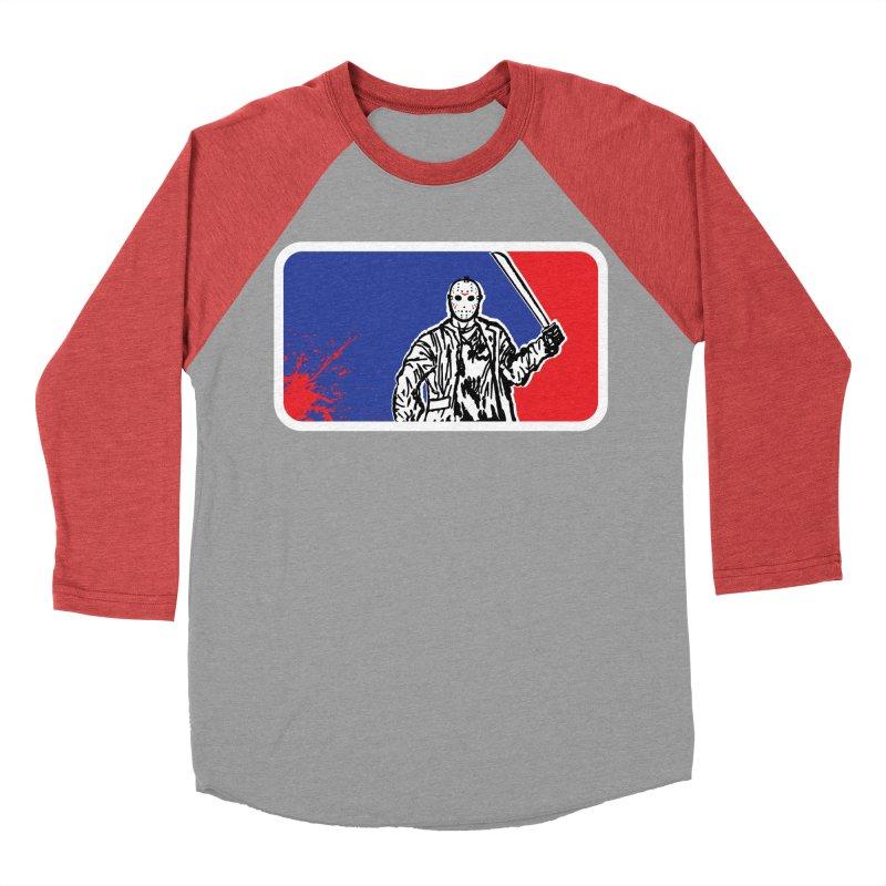 Jason Major League Women's Baseball Triblend T-Shirt by Daletheskater