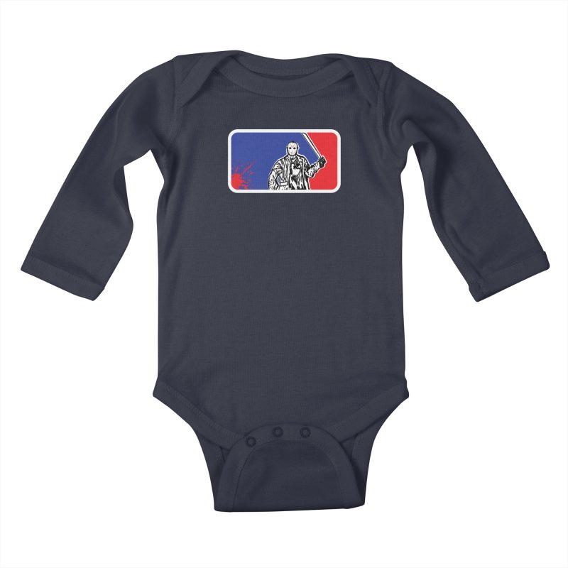 Jason Major League Kids Baby Longsleeve Bodysuit by Daletheskater