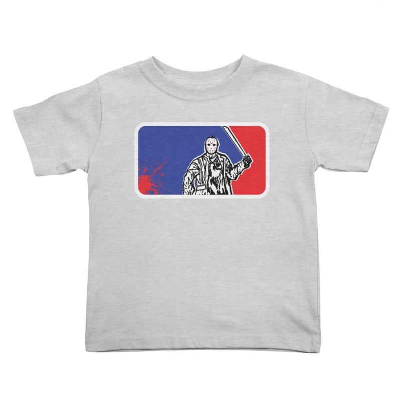Jason Major League Kids Toddler T-Shirt by Daletheskater