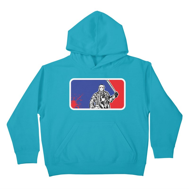 Jason Major League Kids Pullover Hoody by Daletheskater