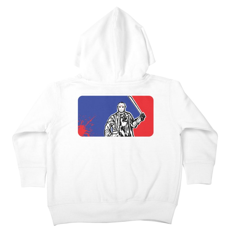 Jason Major League Kids Toddler Zip-Up Hoody by Daletheskater