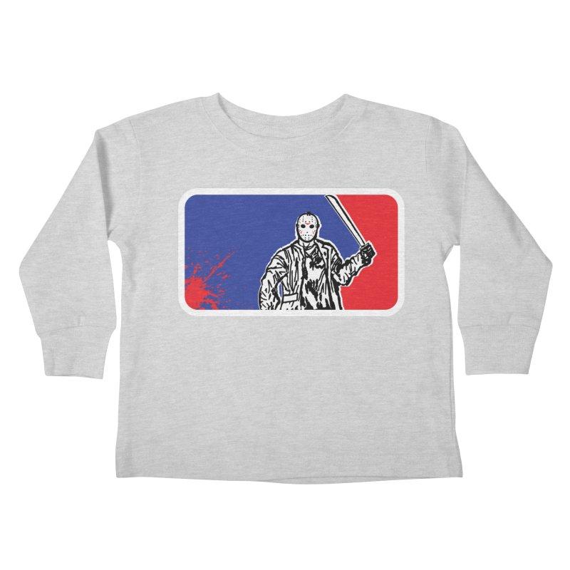Jason Major League Kids Toddler Longsleeve T-Shirt by Daletheskater