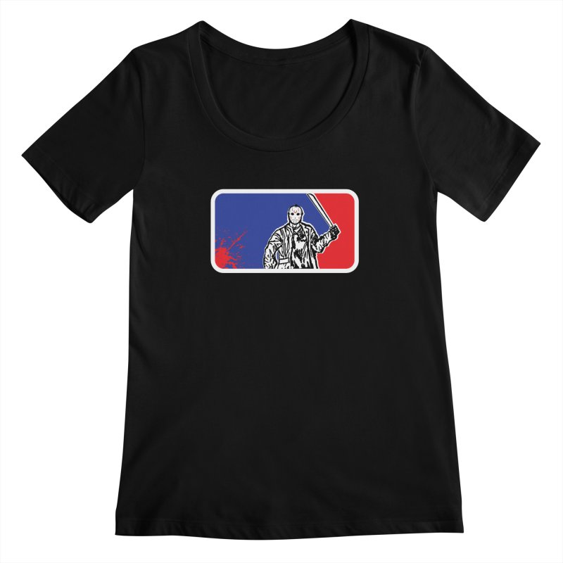 Jason Major League Women's Scoopneck by Daletheskater