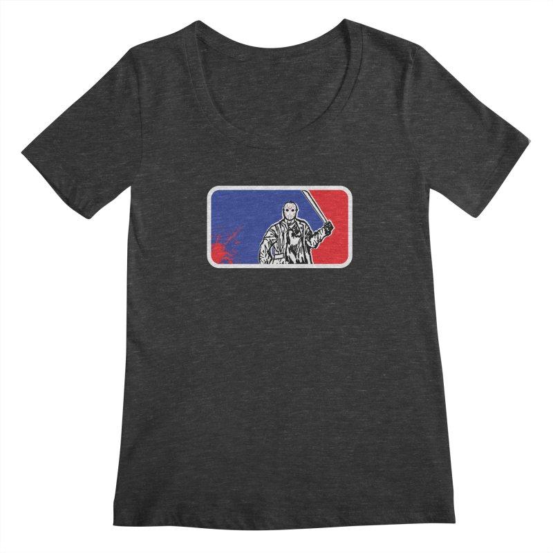 Jason Major League Women's Scoopneck by Daletheskater