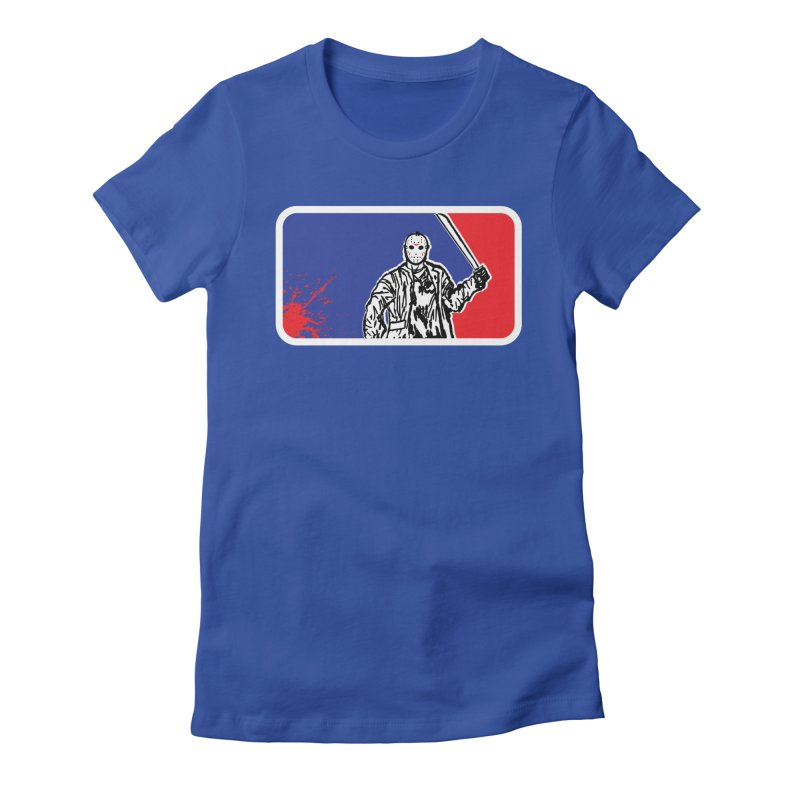 Jason Major League Women's Fitted T-Shirt by Daletheskater