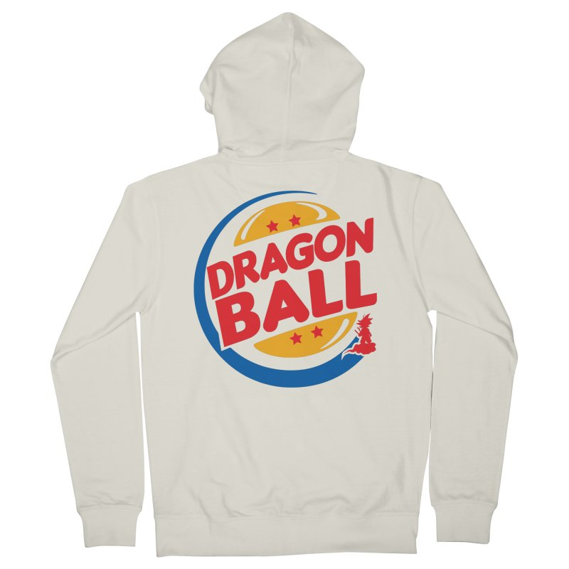 Dragon Ball Men's Zip-Up Hoody by Daletheskater